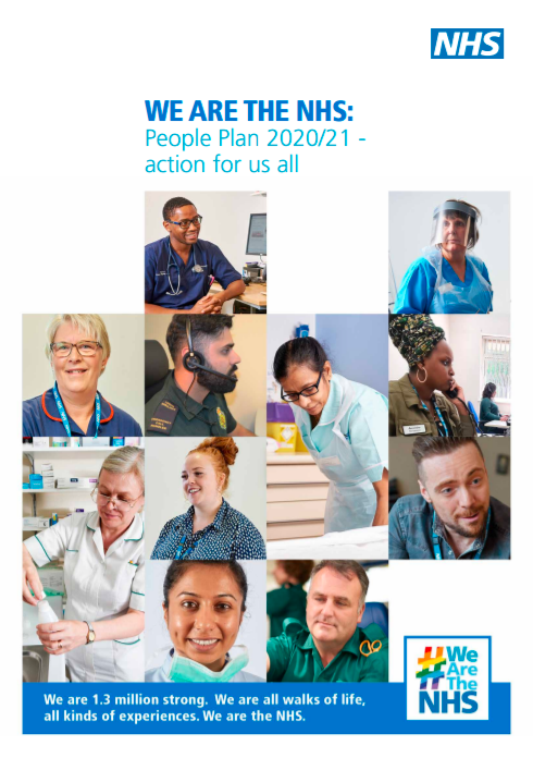 NHS People Plan 2020/21 Front Cover